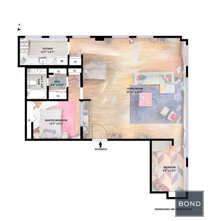Populated Floorplan