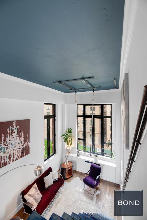 Aerial Shot Living Room